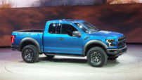 Ford F-150 Raptor, pick-up à moteur V8 révélé au Salon de Detroit en janvier 2015