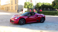 L'Alfa Romeo 4C Spider, version découvrable du Coupé 4C.