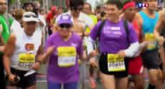 Le 20 heures du 1 juin 2015 : Harriette Thompson, 92 ans, devient la marathonienne la plus âgée de la planète - 1668