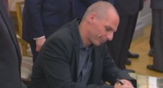 Le ministre grec des Finances, Yanis Varoufakis.