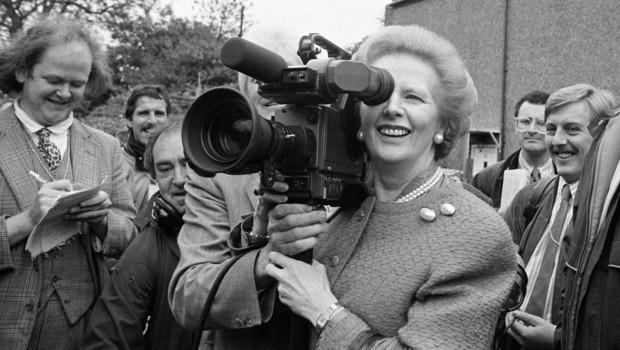 Margaret Thacher, en 1987