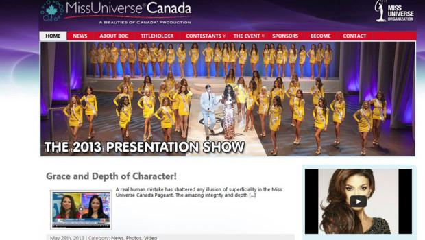 miss univers canada concours beauté