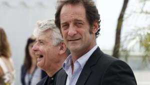 """Vincent Lindon à Cannes en mai 2011 pour la présentation du film """"Pater"""" d'Alain Cavalier"""