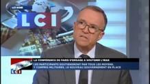 """E. Blanc (UMP) : """"La conférence internationale est trop tardive !"""""""