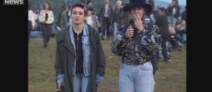 En 1991, le festival de Belfort accueille les Pixies.