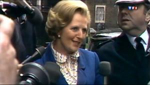 """Le 20 heures du 8 avril 2013 : Margaret Thatcher, le parcours d%u2019une """"Dame de Fer"""" - 302.802"""