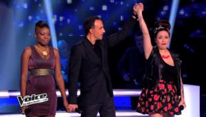 The Voice - Battle 1 - Ayelya - Nikos Aliagas - Manon