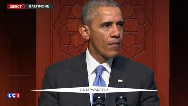 Barack Obama se rend dans une mosquée pour dénoncer les amalgames entre islam et terrorisme