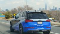 Delphi Autonome Audi New York 2015