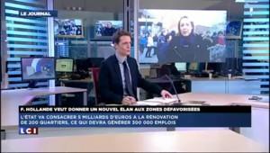"""Hollande à Boulogne : """"Montrer que l'Etat est aux côtés des quartiers en difficulté"""""""