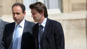 Jean-François Copé et François Baroin UMP droite