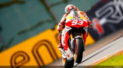 Marc Marquez (Honda), le nouveau patron de la catégorie reine, vainqueur du GP d'Allemagne
