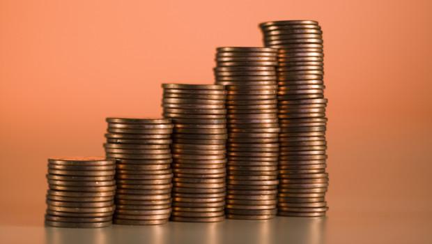 piles de centimes