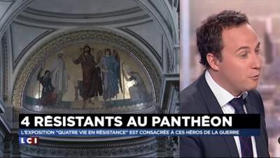 """Résistants au Panthéon : une exposition qui retrace """"quatre façons de résister"""""""