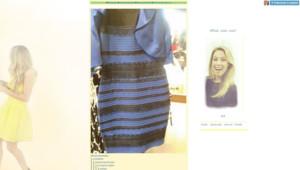 Capture d'écran du Tumblr sur lequel a été postée la photo de la robe qui divise le monde.