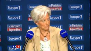FMI: Lagarde part en campagne