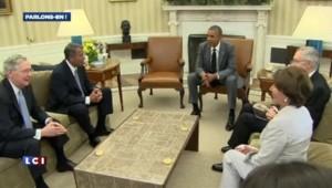 Irak : Obama n'exclut pas des frappes aériennes