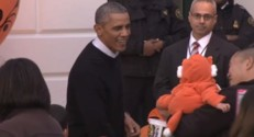 Obama fête Halloween, 31/10/14