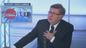 Alain Vidalies sur LCI-Radio Classique, le 12 mars.