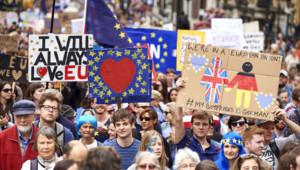 Brexit Londres défilé