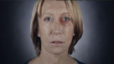 Capture d'écran d'un clip dénonçant les violences faites aux femmes.