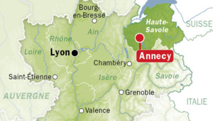 carte localisation annecy