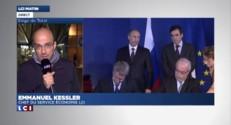 Etat major de crise au siège de Total à La Défense