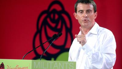 Manuel Valls le 31 août 2014 aux Universités d'été du PS