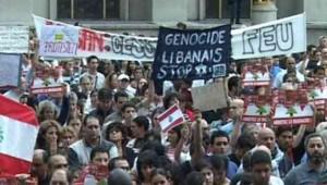 Paris : Les libanais solidaires