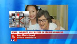 Roms: Indignée elle refuse la légion d'honneur