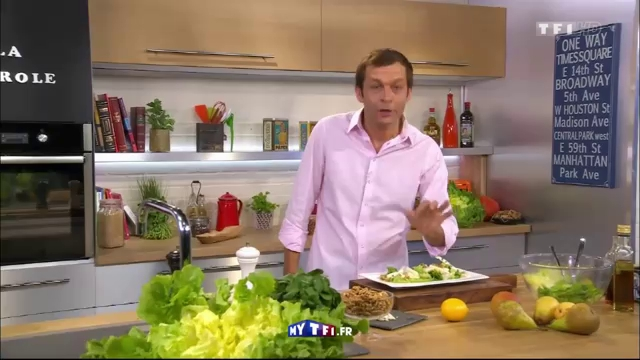 Scarole aux poires et au roquefort petits plats en equilibre mytf1 - Mytf1 petit plat en equilibre ...