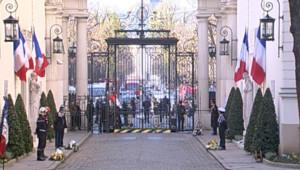 TF1/LCI : La cour du ministère de l'Intérieur, place Beauvau, à Paris
