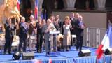 FN : maigre défilé, discours enflammé