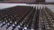 Chine : au cours d'un défilé militaire, le président présente les nouveaux missiles balistiques