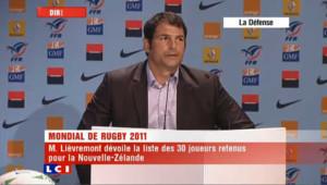 Coupe du monde de rugby : l'annonce de la sélection française