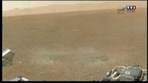 Curiosity : les dernières images de Mars