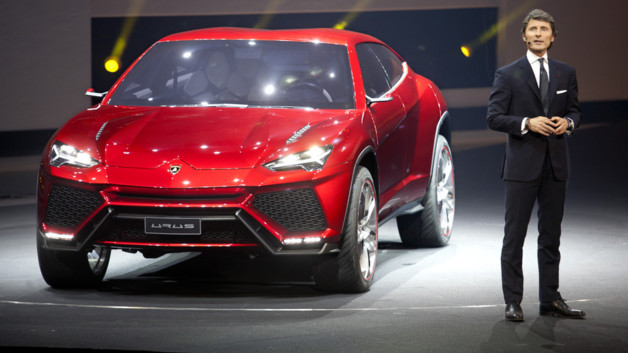 Lamborghini Urus Concept 2012 Salon Pkin