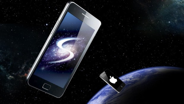 Le Galaxy de Samsung, challenger de l'iPhone d'Apple