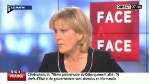 """Nadine Morano : """"Je dis à Nicolas Sarkozy : c'est maintenant ou jamais !"""""""