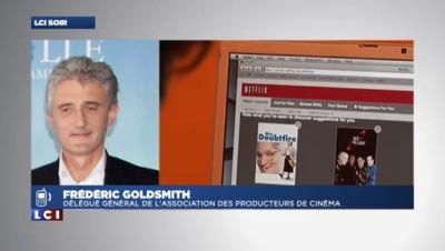 """F. Goldsmith : Netflix? """"Il ne faut pas avoir peur"""""""