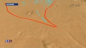 Mars : des traces d'un ancien cours d'eau découvertes par Curiosity