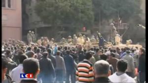 Nouvelles manifestations au Caire : les images