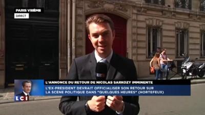 """Sarkozy pourrait officialiser son retour via Facebook dans """"quelques heures"""""""