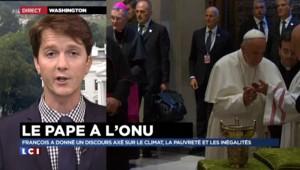Un dispositif de sécurité très strict autour du pape aux Etats-Unis