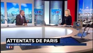 """Attentats de Paris : """"L'islam n'est pas le lieu pour une quelconque violence religieuse"""""""