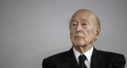 L'ancien président Valéry Giscard d'Estaing en octobre 2014