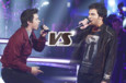 Battles The Voice du 8 mars 2014 - Amir contre François Lachance, Battle masculine sur « Radioactive »