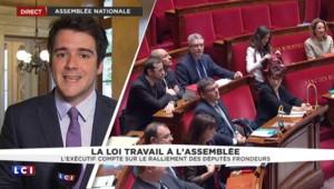 Loi Travail : les frondeurs réunis à l'Assemblée pour discuter d'une stratégie