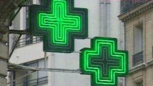 pharmacie médicaments néon santé