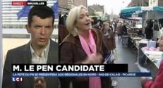 """Régionales : Marine Le Pen candidate, à Bruxelles """"on parie sur son absence"""""""